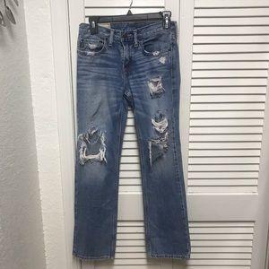 Abercrombie Kids Distressed Jeans Size 14